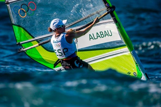 Marina Alabau no ha podido revalidar la medalla de Londres. Foto: Sailing Energy/World Sailing