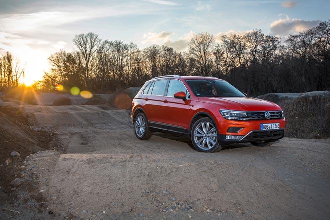 El nuevo Tiguan protagoniza los cursos de conducción off-road de Volkswagen