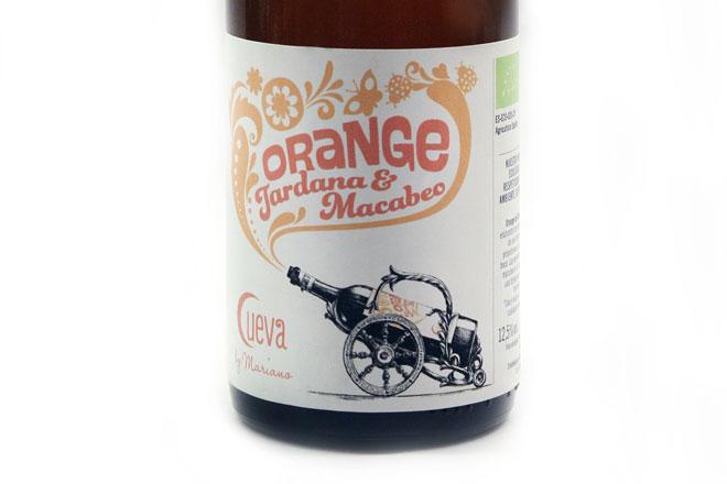 Tardana y Macabeo para un 'Orange Wine' ¿O hay que decir anaranjado? Bodegas Cueva