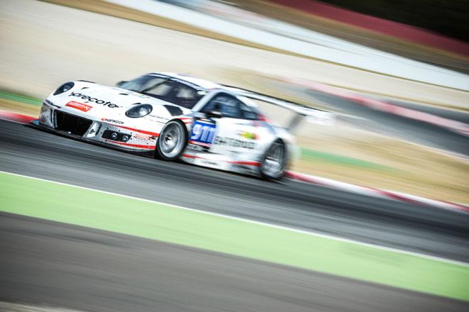 Porsche 911 GT3 R. Equip Precote Herberth Motorsport, 18ª edición de las 24 Horas de Barcelona de Automovilismo-Trofeo Fermí Vélez