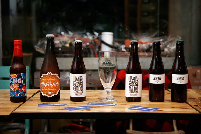 Las 'cervezas salvajes' irrumpen en una cata de Sour