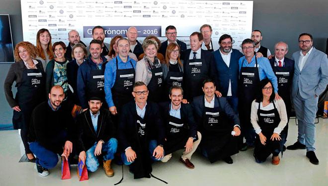 Gastrónoma 2016 reúne 50 chefs, los mejores panaderos y el reto 'Mediterráneo vs Atlántico' con Lisboa como región invitada
