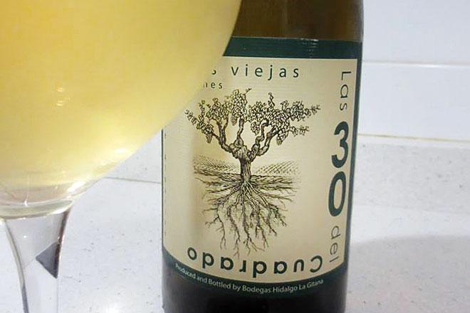 'Las 30 del Cuadrado 2015', Palomino 100%. Bodegas Hidalgo la Gitana