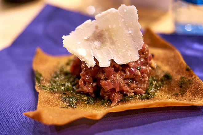 La vuelta al mundo en steak tartare cervecero, Bierwinkel, Valencia, Las Cervezas del Mercado
