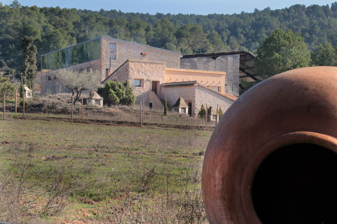 Arqueología enológica para un vino original. Celler del Roure. Safrà
