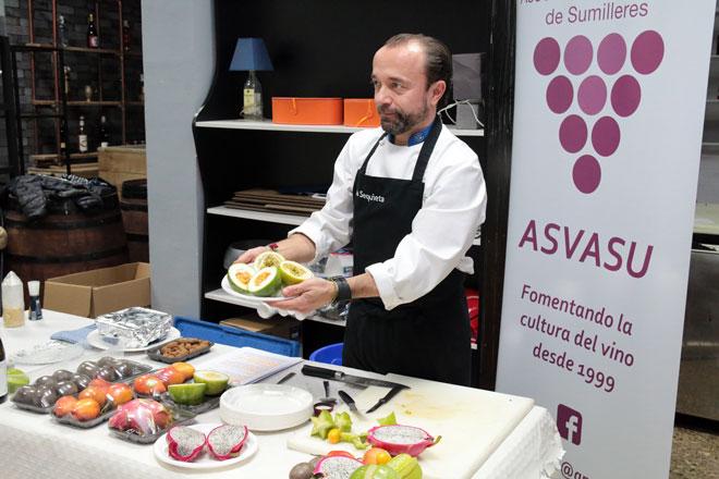 Sebastián Romero, cocinero y propietario del Restaurante La Sequieta, en Alaquàs