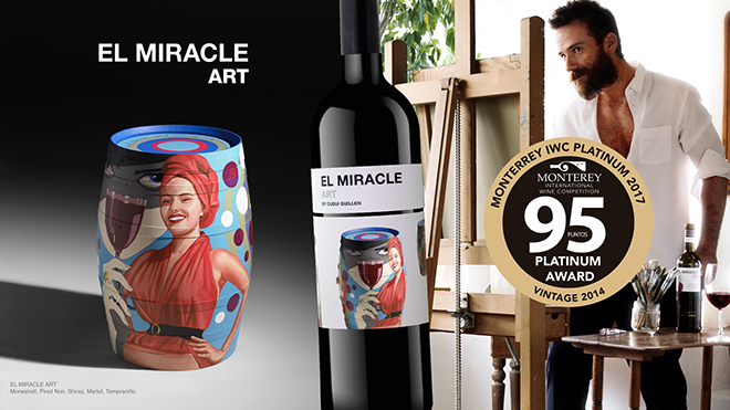 El Miracle Art, de Bodegas Vicente Gandía, premiado en California