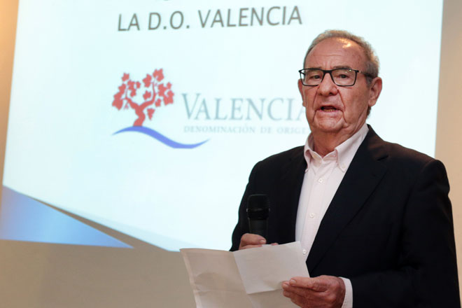 Cosme Gutiérrez, presidente de la DO Valencia