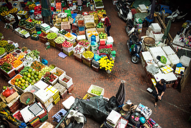 Mercado, Hanói, la ciudad entre dos ríos