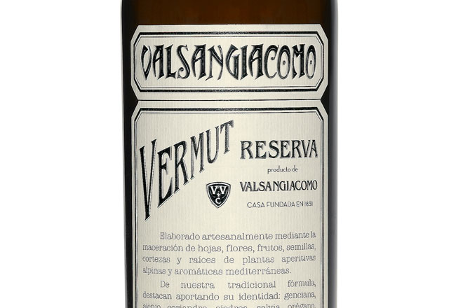 Del antiguo vermut del Grao de Valencia. Vermut Reserva Valsangiacomo