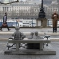 Ocean Plastic Sculpture unveiled in London