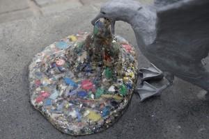 Ocean Plastic Sculpture unveiled in London