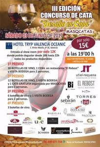 Todo preparado para el tercer 'Desafío en Copa' en el Hotel Tryp Oceanic València