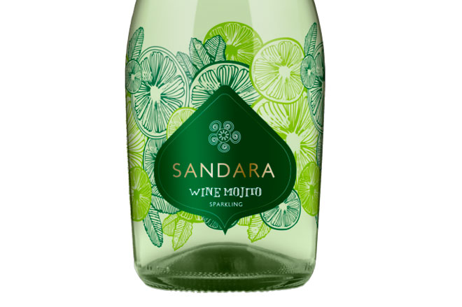 Sandara Wine Mojito, Bodegas Vicente Gandía. El refrescante desenfado de las burbujas