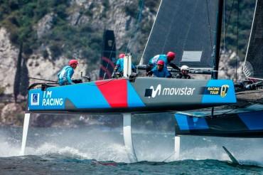 Buenas sensaciones del 'I´M Racing Movistar' tras su debut en el GC32 Racing Tour