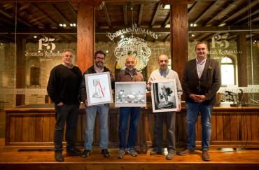 La exposición 'Bodegón' llena de sugerentes imágenes el espacio de Bodegas Riojanas