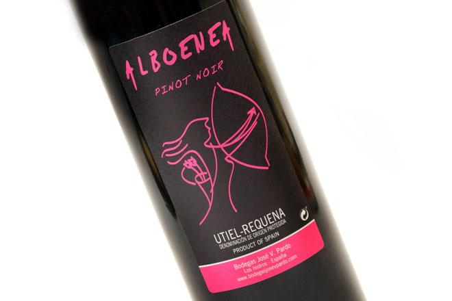 Un Pinot Noir para paladares sutiles. Bodegas José Vicente Pardo
