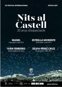festival 'Nits al Castell' 2017