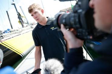 Peter Burling ficha por el Team Brunel en la Volvo Ocean Race