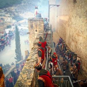 Villena revive la fiesta de 'Moros y Cristianos' un año más