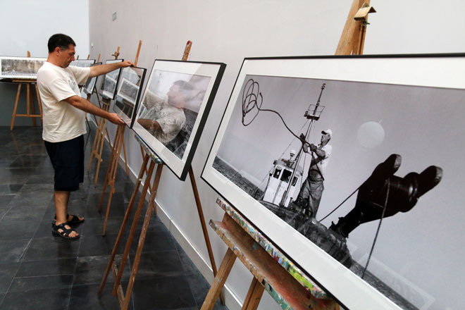 La grandeza de la 'Almadraba' en fotografías panorámicas, Jaume Fuster