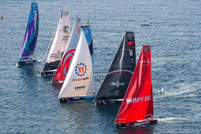 Nuevas reglas en la tripulación y los mismos barcos para todos, comienza la Volvo Ocean Race