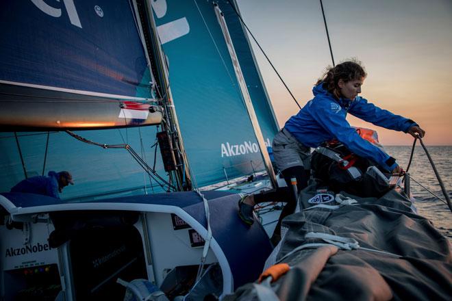 team AkzoNobel James Blake Volvo Ocean Race