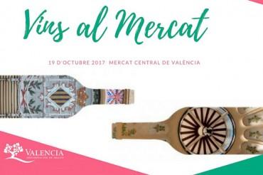 La DOP Valencia celebra la Capital Mundial de la Alimentación con 'Vins al Mercat'
