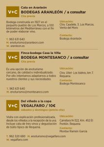 Agenda del Vino Utiel-Requena 2018