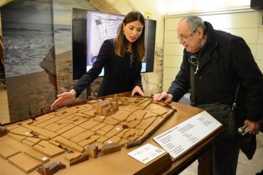 La Tarraco romana en maqueta para invidentes