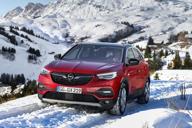 Óptima tracción en todo momento para el Opel Grandland X con IntelliGrip