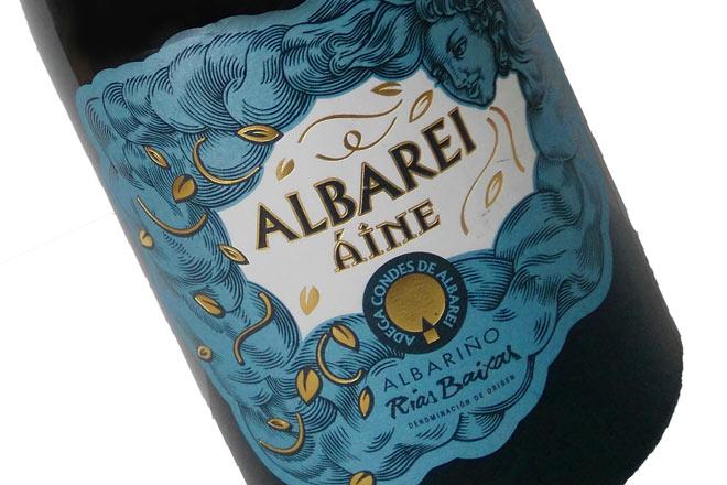 Condes de Albarei, Áine. Granito, Albariño y los vientos del Atlántico