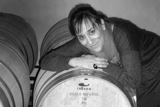 Mayte Geijo prefiere el roble albar español por el sabor y textura diferente que aporta a los vinos
