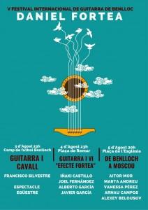 Benlloc consolida el Festival de Guitarra Daniel Fortea amb la cinquena edició de 2018