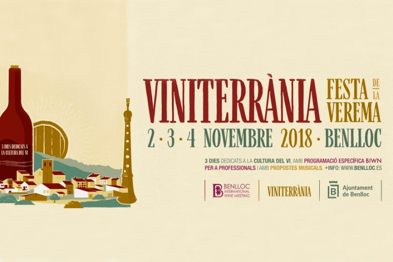 Benlloch presenta el cartell de Viniterrània 2018, el festival de la Festa de la Verema