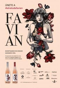 FAVIAN rosado, el vino que lucha contra el cáncer