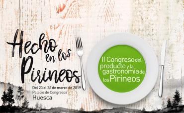 El II Congreso de Gastronomía Hecho en los Pirineos anuncia sus novedades