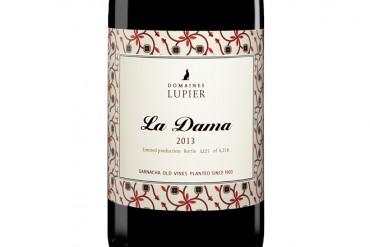 La Dama, Domaines Lupier. Delicada fragancia de Garnacha