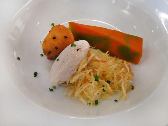 Helados salados en la gastronomía. La Matandeta, Valencia