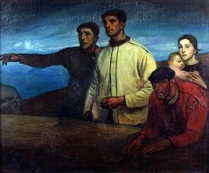La-Galerna. Aurelio Arteta, 1913. Oleo.133x158cm. Museo de Bellas Artes. Bilbao