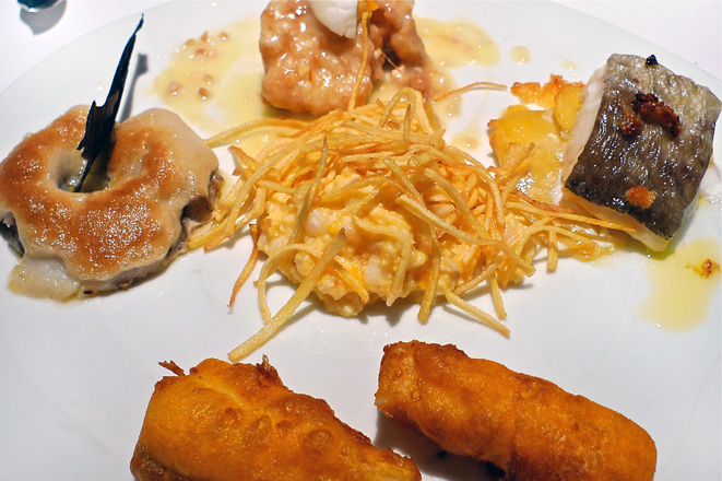 El bacalao existe… en Teruel. Restaurante Yain