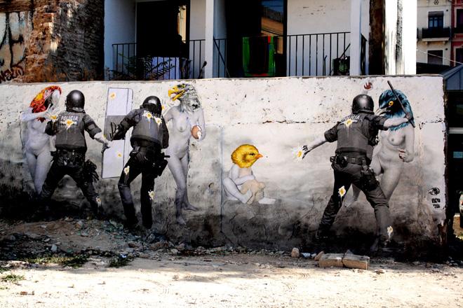 Ataque a la libertad de expresión en Valencia