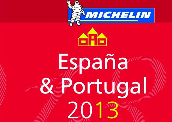 Estrellas Michelin España 2013. Listado por provincias