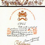 Château Mouton Rothschild 1945