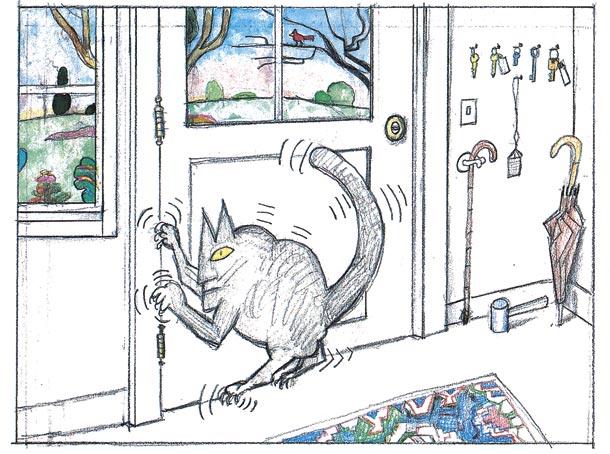 Saul Steinberg: humor con lápiz y papel