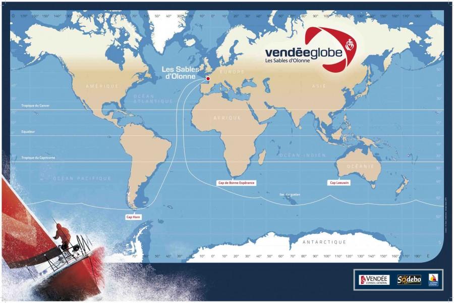La 'Vendée Globe' 2012-2013 remonta el Atlántico