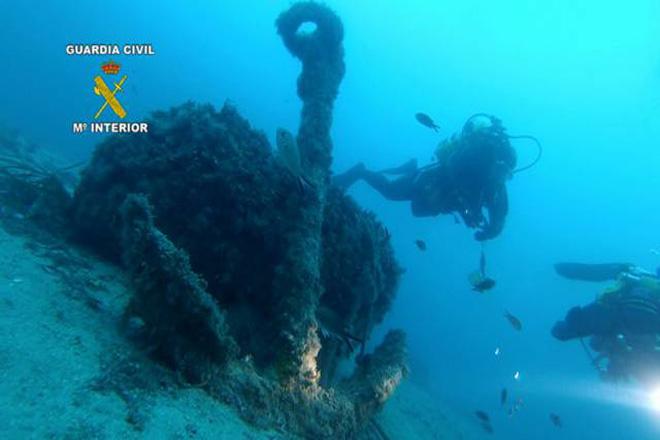 Localizado un galeón español en una operación contra el expolio submarino