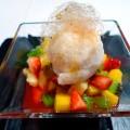 Restaurante Hotel Europa- macedonia de frutas tropicales