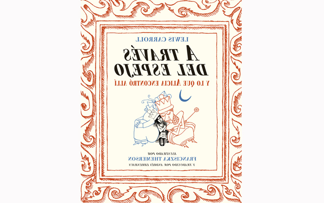 Las ilustraciones de Franciszka Themerson logran reeditar 'A través del espejo'