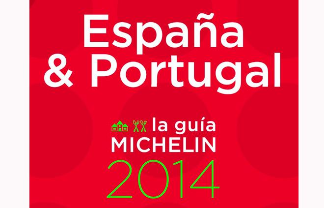 Lluvia de estrellas en la Guía Michelin España y Portugal 2014